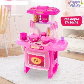 Игровой модуль кухня «готовим весело» с аксессуарами, световые и звуковые