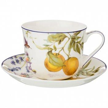 Чайный набор на 1 персону прованс лимоны 2 пр. 500мл (кор=18наб.)