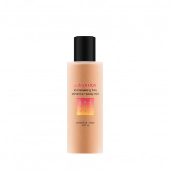Молочко-усилитель загара beautific sunsation spf15, 150 мл