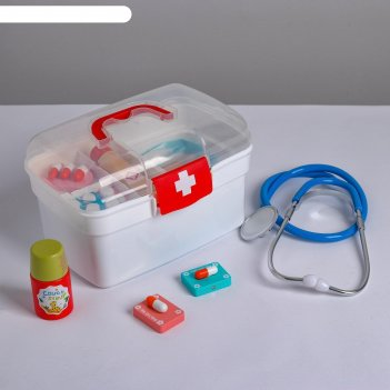 Детский игровой набор медик 20.5х12.5х13,5 см