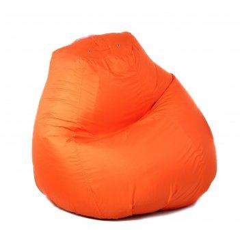 Кресло-мешок пятигранный, d82/h110, цвет 14 light orange