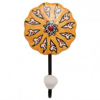 Вешалка-крючок (железо, керамика) 2шт/упак.