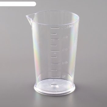 Мерный стакан, 250 мл, цвет прозрачный