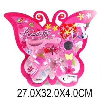 Парикмахерский набор бабочка, блистер.