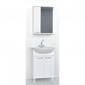 Набор мебели гармония 55: тумба с раковиной + шкаф-зеркало