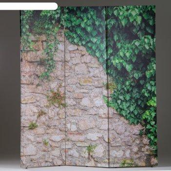 Ширма каменная стена, 160 x 150 см