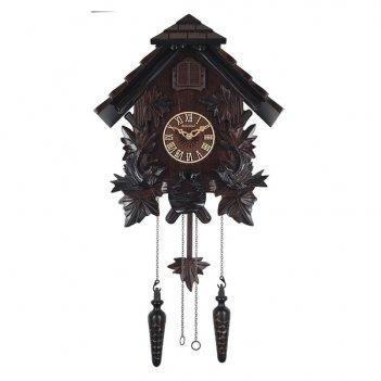 Настенные часы с кукушкой columbus гнездо cq-019
