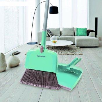Набор для уборки broomer: щётка, совок для сухой уборки, 132 см