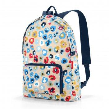 Рюкзак складной, широкие лямки, объём 14 л
