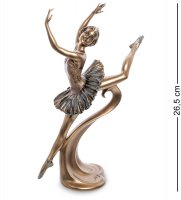 Ws-958 статуэтка балерина - гранд жете