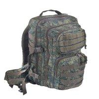 Рюкзак тактический molle эльбрус 35 л., зеленая цифра