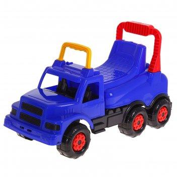 Машинка детская веселые гонки синяя м44456