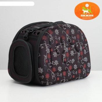 Складная сумка-переноска с отдельным входом, материал eva, 43,5 х 28 х 33