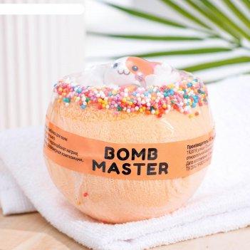 Бомбочка для ванн bomb master мультяшные герои оранжевый, 290 гр.