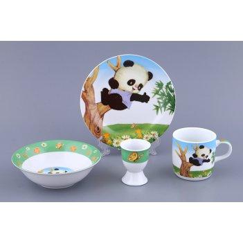 Наборы посуды на 1 персону 4пр.:миска,тарелка,круж...
