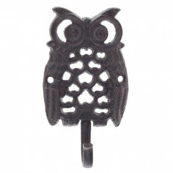 Крючок сова, l8 w3 h14,5 см