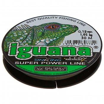Леска iguana 0.12 30м