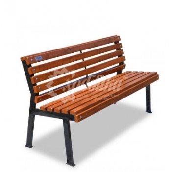 Скамейка «модерн» без подлокотников 1,2 м