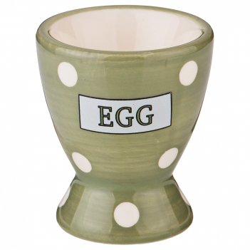 Подставка под яйцо green egg  5,6*5,6*6,6 см. без упаковки (мал=12шт./кор=