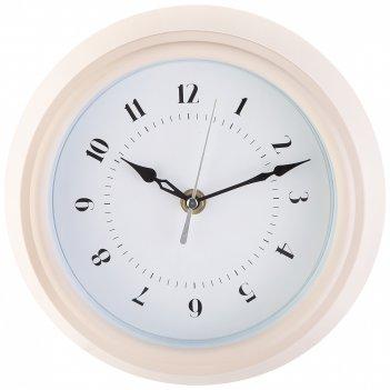 Часы настенные кварцевые lovely home диаметр 22 см цвет:белый циферблат 15