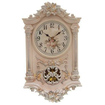 Часы настенные декоративные, l38 w11,5 h65 см,  (2хаа не прилаг.)