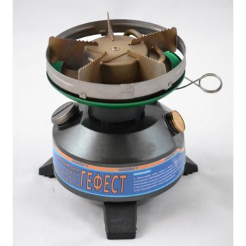 Плита бензиновая следопыт-гефест, походный набор