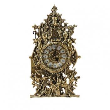 Часы  охотник  каминные