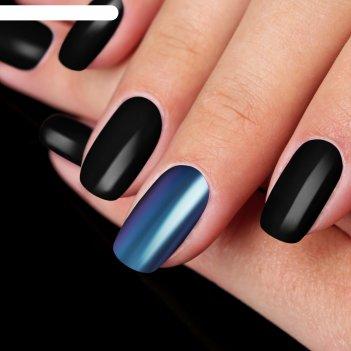 Втирка «зеркальный блеск» для декора, с аппликатором, цвет фиолетовый/сини