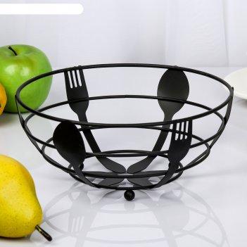 Ваза для фруктов 22х22х9 см