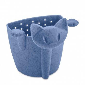 Ситечко для чая, размер: 7,5 х 6 см, материал: полипропилен, цвет: синий,