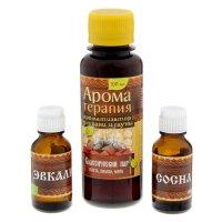 Набор 2 аромамасла и ароматизатор для бани будь здоров