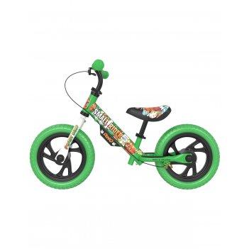Детский беговел small rider motors (cartoons eva, зеленый)