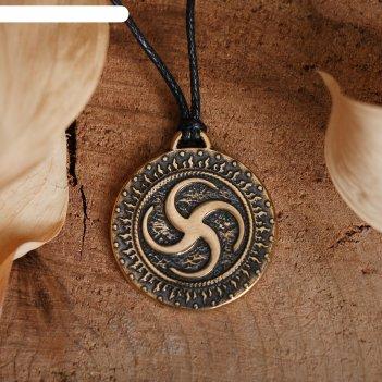 Славянский оберег из ювелирной бронзы сваор