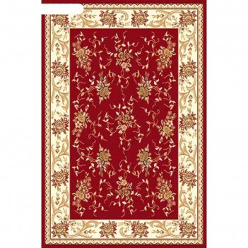 Прямоугольный ковёр laguna 5455, 200 х 400 см, цвет red