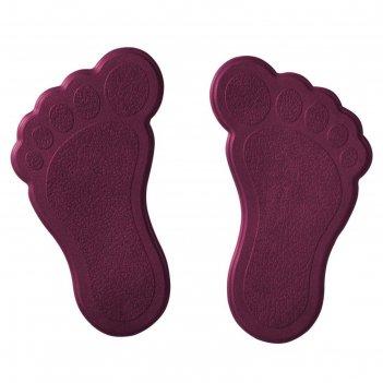 Мини-коврики для ванны slip-not xxs 6 шт, цвет фиолетовый