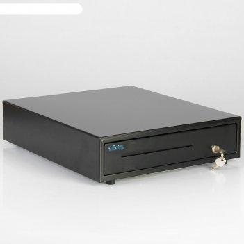 Денежный ящик vioteh hvc-12, электромеханический, цвет чёрный