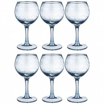 Набор бокалов из 6 шт light blue ренесанс 280 мл