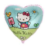 Шар фольга 18 сердце hello kitty в саду фм