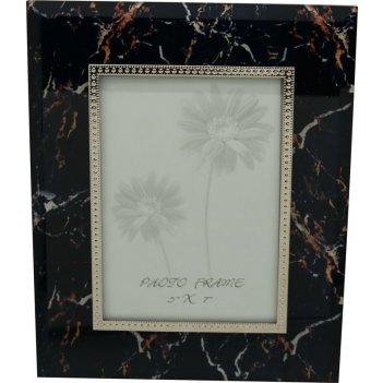 Рамка для фотографии jardin dete мрамор, cталь, стекло, размер