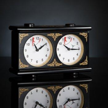 Шахматные часы ампир механические  kadun