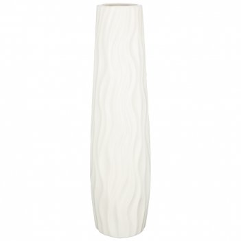 Ваза напольная цвет: кремовая глазурь 16,5*58 см