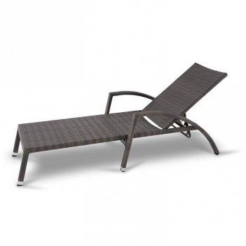 Садовый лежак 4sis парма без матраса, садовая мебель