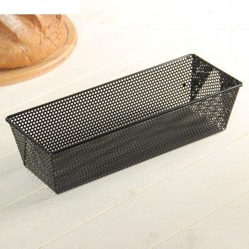 Форма для выпечки перфорированная хлеб. перфо, антипригарное покрытие