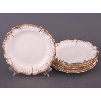 Набор тарелок из 6 шт. цветочная симфония диамет...