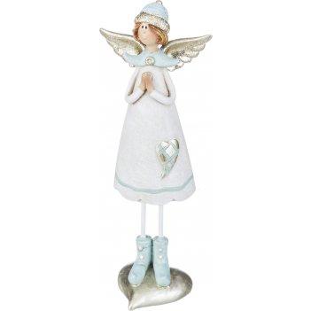Фигурка ангелочек 6*4,5*18 см (кор=32шт.)