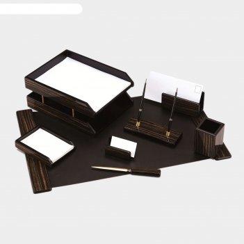 Набор настольный good sunrise 8fe-1a деревянный/мдф 8 предметов