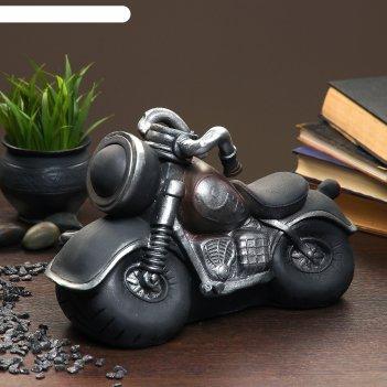 Копилка мотоцикл 29х8х20см