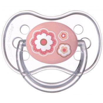 Пустышка силиконовая canpol babies newborn baby, симметричная, от 6-18 мес