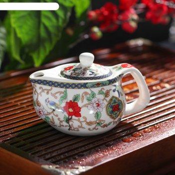 Чайник заварочный 200 мл цветы