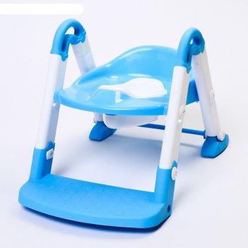 Горшок-трансформер 3 в 1, цвет голубой